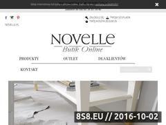 Miniaturka domeny butik.novelle.pl