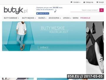 Zrzut strony Sklep z butami - Butyk.pl