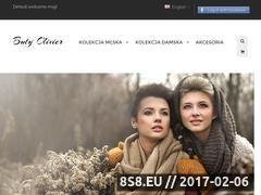 Miniaturka domeny www.butyolivier.pl