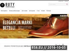Miniaturka domeny www.butypodwyzszajace.pl