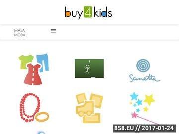 Zrzut strony Buy4Kids.PL - sklep dla Twojego Dziecka