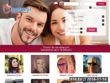 Zrzut strony Twój portal randkowy - Buziak.pl