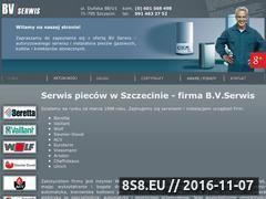 Miniaturka domeny www.bv-serwis.pl