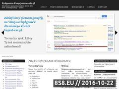 Miniaturka domeny bydgoszcz-pozycjonowanie.pl