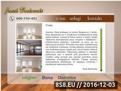 Miniaturka domeny www.bydgoszczcyklinowanie.pl