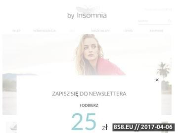 Zrzut strony Markowa odzież by Insomnia