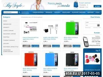 Zrzut strony ByStyle.pl - szerokie paski damskie