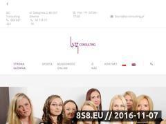 Miniaturka domeny www.bz-consulting.pl