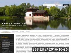Miniaturka domeny www.c21atlantis.pl