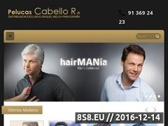 Thumbnail of Pelucas y Postizos Cabello R. Website