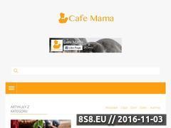 Miniaturka domeny cafe-mama.pl