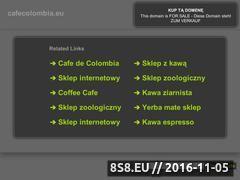 Miniaturka domeny cafecolombia.eu