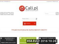 Miniaturka domeny cali.pl