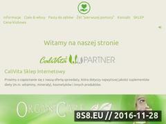 Miniaturka domeny www.calivita.sklep.pl