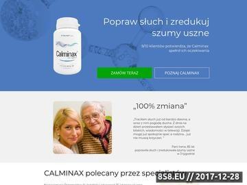 Zrzut strony Calminax suplement diety