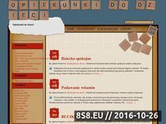 Miniaturka Sklep internetowy dla dzieci (www.calydladzieci.pl)