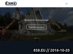 Miniaturka domeny cama.pl