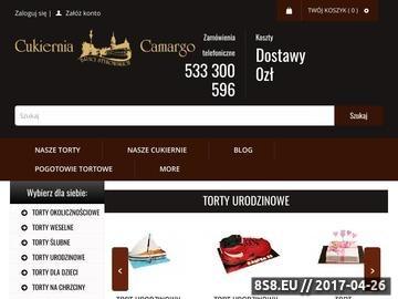 Zrzut strony Tomasz, Dariusz Stykowscy S. C. - Cukiernia Warszawa