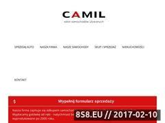 Miniaturka domeny www.camil.pl