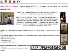 Miniaturka domeny campingecho.pl