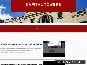 Zrzut strony Capital Towers - centrum biurowo-handlowe