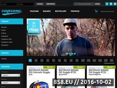 Miniaturka domeny www.capzone.pl