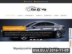 Miniaturka domeny car4vip.com.pl