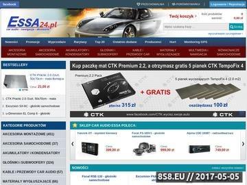 Zrzut strony Car Audio Sklep ESSA
