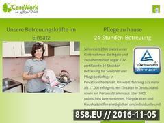 Miniaturka domeny www.carework24.de