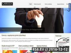 Miniaturka domeny www.carezza.pl