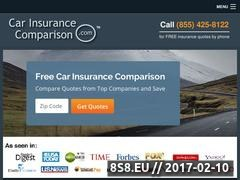 Thumbnail of Car Insurance Comparison Website