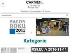 Miniaturka domeny www.carmenbw.pl
