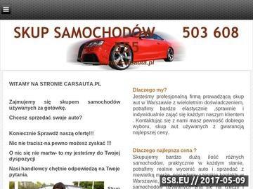 Zrzut strony Skup samochodów Carsauta