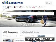 Miniaturka domeny www.carserwis.pl