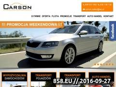 Miniaturka domeny www.carson.auto.pl