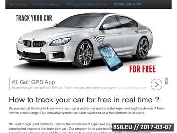 Zrzut strony On-line car tracking