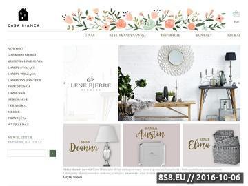 Zrzut strony Lene Bjerre - sklep