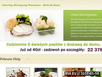 Zrzut strony Dieta do domu Warszawa
