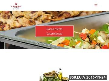 Zrzut strony Szmaczny Catering