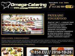 Miniaturka domeny cateringwarszawa.net