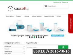 Miniaturka domeny caxsoft.pl