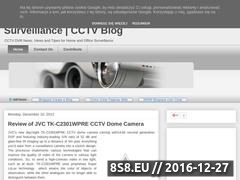 Thumbnail of CCTV camera and DVR for home and office surveillance Website
