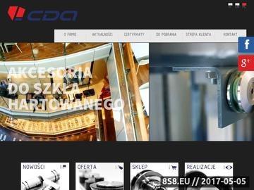 Zrzut strony Systemy ścianek szklanych