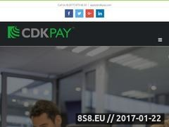 Thumbnail of High Risk Merchant Accounts - CDK Pay Website