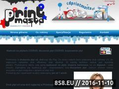 Miniaturka domeny www.cdprintmasta.pl