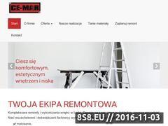 Miniaturka domeny www.ce-mar.pl
