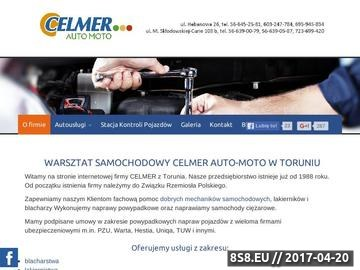 Zrzut strony Mechanika pojazdowa Toruń