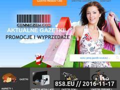 Miniaturka Aktualne promocje, wyprzedaże, gazetki i przeceny (cenniczek.com)