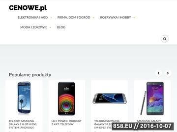 Zrzut strony Porównywarka cen