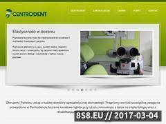 Miniaturka domeny www.centrodent.com.pl